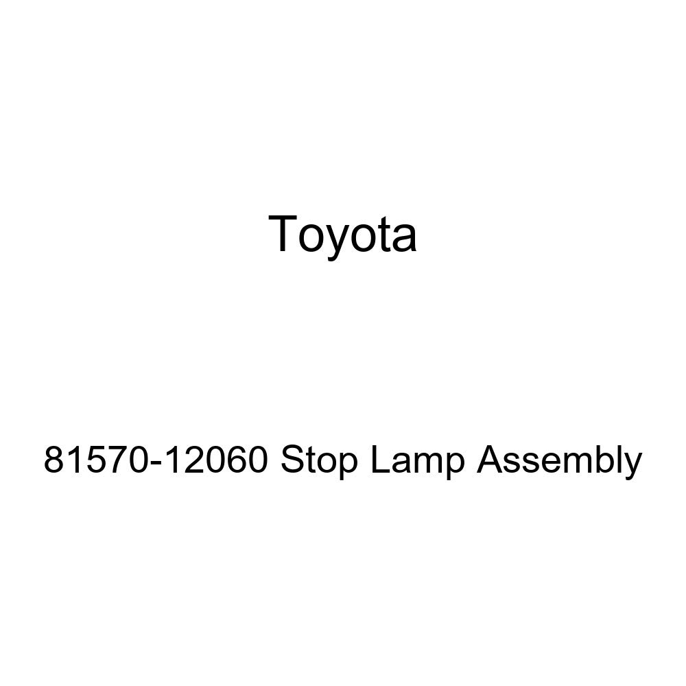 Genuine Toyota 81570-12060 Stop Lamp Assembly