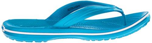 Crocs Crocband Flip 11033, Infradito Unisex - Adulto Blu (Ultramarine/White)