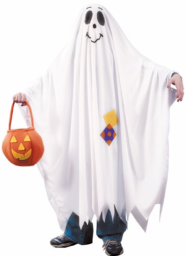 Ghost Costumes - Fun World Friendly Ghost Child Costume-medium