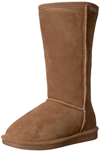 Bearpaw Women's Emma 12 Fur Trimmed Boot Brown (Hickory Ii 220) Goj8x