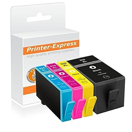 Printer Express XL - Juego de 4 cartuchos de tinta equivalente a ...
