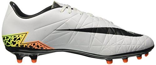 Nike white Scarpe Phelon volt Ii black Uomo Calcio Fg Da Bianco Hypervenom total blanco Orange gwHqrvg