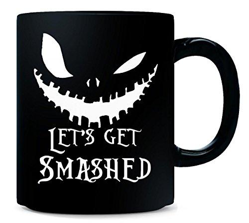 Lets Get Smashed Pumpkin Halloween Party Smashing Pumpkins - Mug -
