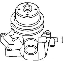 John Deere Pump Water w/ Pulley w/o Back Plate Par
