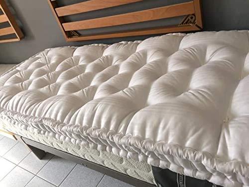 Materassi In Lana Prezzi.Materasso Di Lana Nuova Con Fodera Fasciato Bianco Cotone Amazon It Handmade
