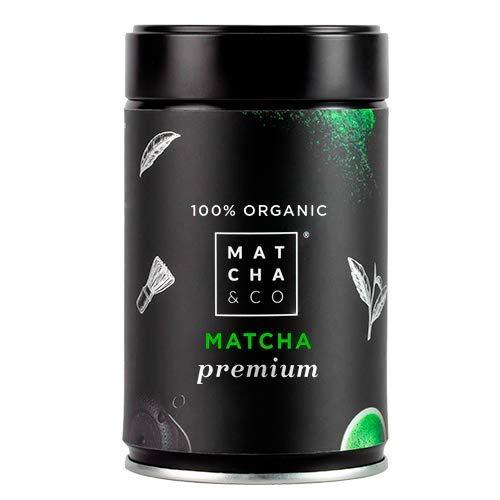 Matcha Premium 100% Ecologico | Te verde en polvo Organico de Japon | Te Matcha de grado ceremonial premium BIO | Matcha & CO (80 g)