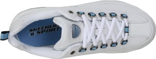 Premium 1718 Baskets femme mode Blue White Skechers CHNT PZdxnq1