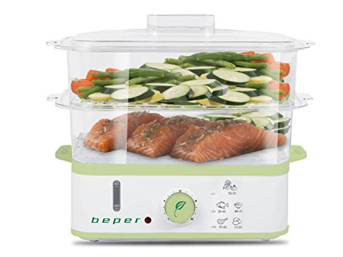 Beper Steam Cooker, 9 Litre 90.540