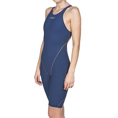 Arena Women's Powerkin St 2.0 Full Body Short Leg Swimming One Piece, Navy, Size 24 by Arena