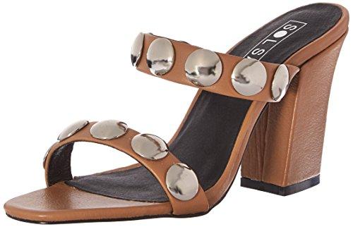 Sol Sana Womens Sheri Heel Mule Natural