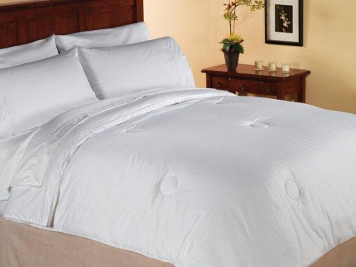 Aeolus Down Medium Weight White Down Alternative Comforter, Full/Queen