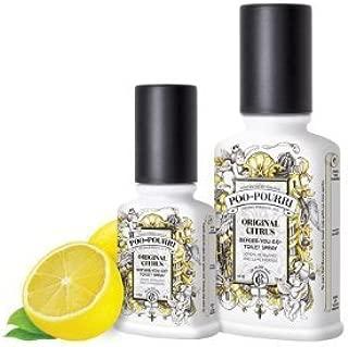 product image for Poo-Pourri Original Bathroom Deodorizer Set, Includes 2 Oz. and 4 Oz, Free Pocket Size Spritzer & Free Bag