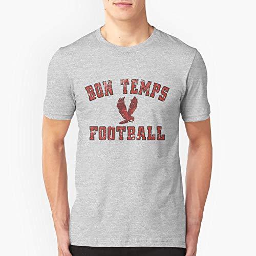 Bon Temps Football Vintage Slim Fit TShirtT shirt Hoodie for Men, Women Unisex Full Size. (Hoodie Football Bon Temps)