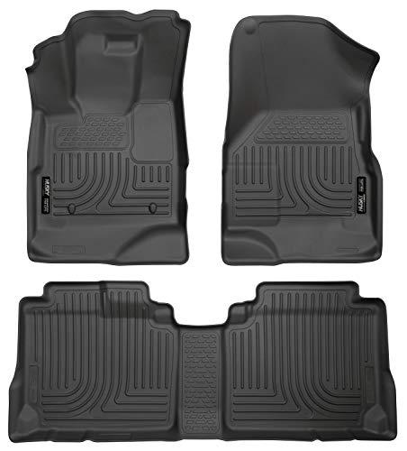 Husky Liners 98131 Black Weatherbeater Front & 2nd Seat Floor Liners Fits 2010-2017 Chevrolet Equinox, 2010-2017 GMC Terrain (Tennessee Titans Floor Mats)