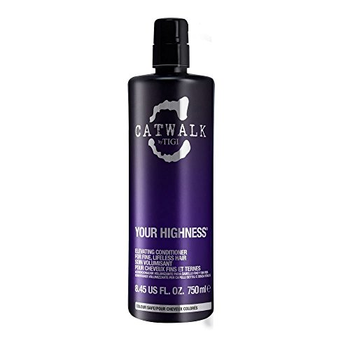Volume Catwalk Tigi Collection (Tigi Catwalk Your Highness Volume Collection Elevating Fine Hair Shampoo 750ml by TIGI)