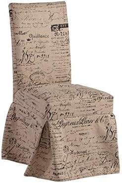 Progressive Furniture Charlotte Slipcover Dining/Accent Chair (1/Ctn), Beige