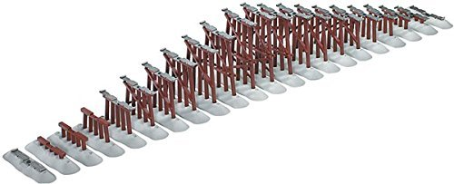 Lionel - FasTrack Graduated Trestle Set O - 6-12037 (Lionel Graduated Trestle Set)