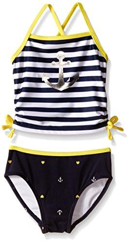 Nautica Little Stripe Tankini Graphic