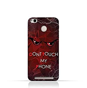 Xiaomi Redmi 3X TPU Silicone Case with Dont Touch My Phone 3 Design