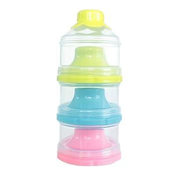 9cb1f8f3797c Amazon.com : TOYMYTOY Portable Milk Powder Dispenser Detachable ...