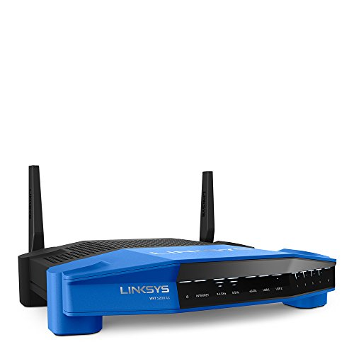 Linksys WRT AC1200 Dual-Band and Wi-Fi Wireless Router with Gigabit and USB 3.0 Ports and eSATA (WRT1200AC) by...