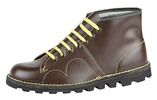 Monkey Mens Boots Mod Grafters Wine Style Original Retro zqwECx4q