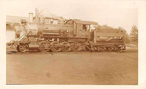 (Kenilworth New Jersey Rahway Valley Train Engine Real Photo Snapshot JA455785)