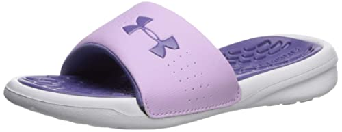 4c7c4bbb64 Under Armour Girls Playmaker Fixed Strap Slide Sandal: Under Armour ...
