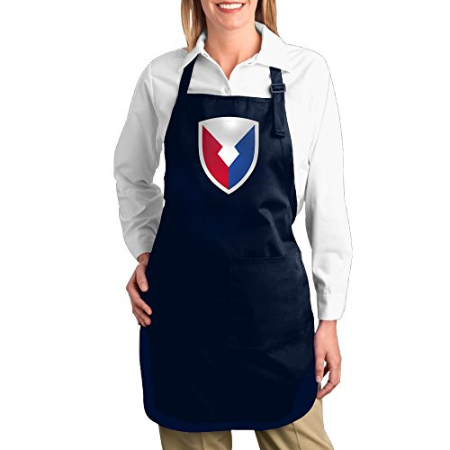 K7UM Bib Aprons US Army Materiel Command Insignia Kitchen Apron With Pockets (Amc Blue Engine Paint compare prices)