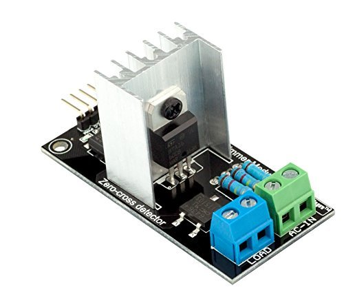 GENUINE RobotDYN - PWM Ac Programmable Light Dimmer 110V - 220V AC Module Controller Board For Arduino, STM, ARM, AVR, Raspberry Compatible 50/60hz With HeatSink 3.3V/5V Logic from 110V Ac to 220V AC