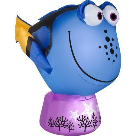 Halloween Disney Inflatable Dory The Blue Fish from Finding Dory & Finding Nemo Movies ()