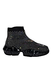 Rhinestone Platform Sneaker