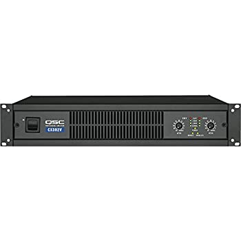 QSC 2-Channel Direct Output Power Amplifier (200 W 8oHm) (CX302) - (Certified Refurbished)