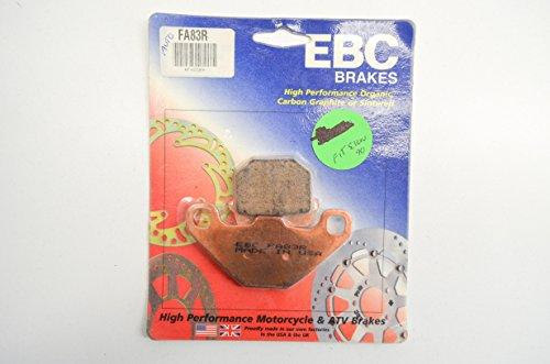 Parts Yamaha Atv Catalog (EBC Brakes FA83R Disc Brake Pad Set)