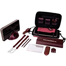 dreamGEAR DSi XL 20 in 1 Starter Kit Special Edition (burgundy) - Nintendo DS