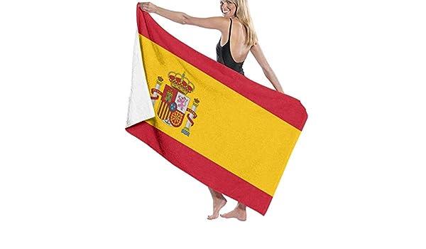 FERNMXZ Toallas de Playa diseño de la Bandera de España: Amazon.es: Hogar
