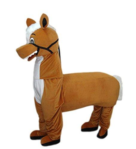 MascotShows 2-Person Horse Mascot Costume