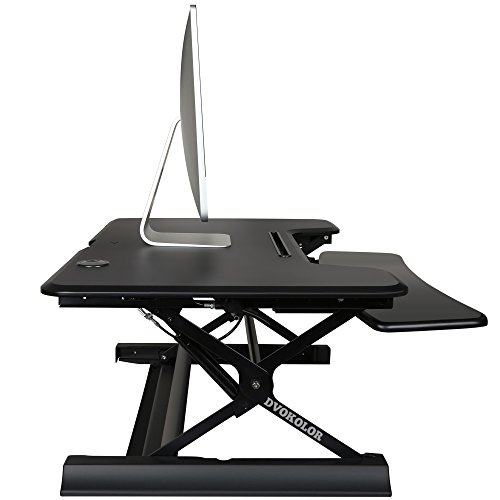 Height Adjustable Standing Desk - Sit Stand up Desks Riser Pro 36