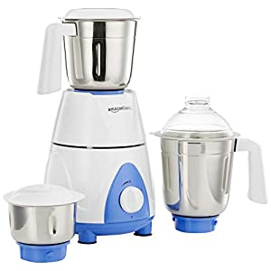 AmazonBasics Premium 750-Watt Mixer Grinder with 3 Jars