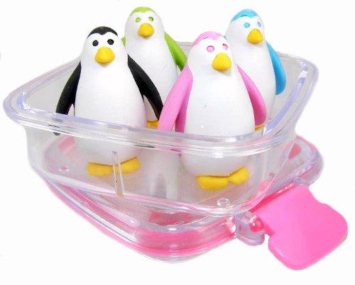 Iwako Japanese Erasers In A Mini Bento Box -