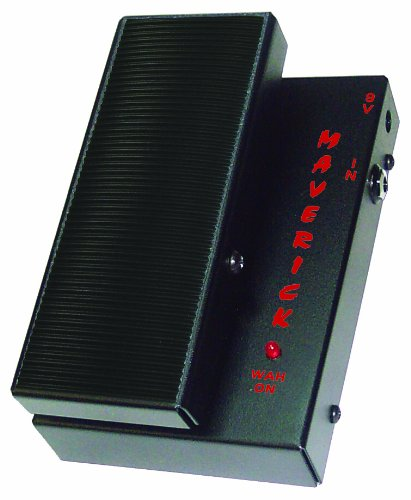 Morley Pedals Maverick Mini Switchless Wah Effect Pedal MSW