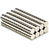 Magnetastico | 25 pieces 8x3 mm disc neodymium magnets N52 | Fridge magnet Pinboard magnet Permanent magnet Whiteboard magnet Crafts magnet | Small planning & Notice board magnets