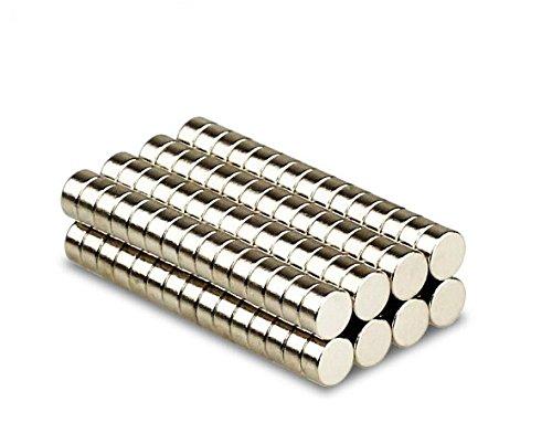 2 opinioni per Magnetastico® | 50 pezzi magneti al neodimio N52 dischi 6x2 mm | Magnete da