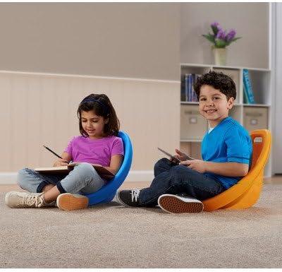 American Plastic Toys Scoop Rocker Kids Childrens Chairs Pack of 12