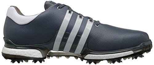 Scarpe Da Golf Adidas Mens Tour360 2.0 Onix / Ftwr Bianco / Nero