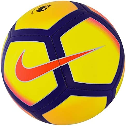 Nike Premier League fútbol Campo, Color Yellow/Purple/Pink, tamaño ...
