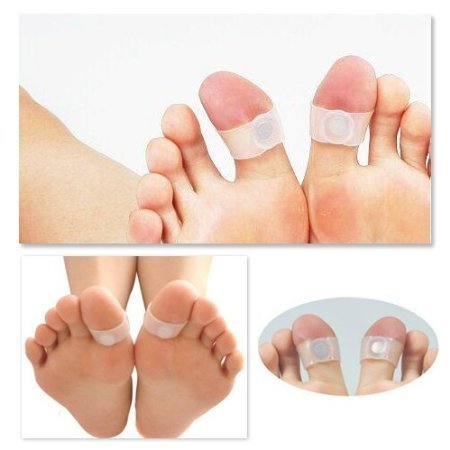 1 Pair of Effectively Slimming Soft Silicone Toes Acupressure Rings With Magnets For Weight Loss, Metabolism Increase / Stimulation And Curbing Appetite By VAGA by VAGA (Image #4)