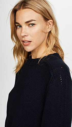 360 SWEATER Women's Kendra Sweater, Midnight, X-Small by 360SWEATER (Image #6)