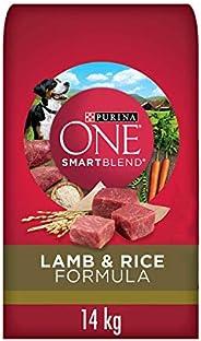 Purina ONE Smartblend Natural Dry Dog Food, Lamb & Rice 1