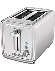 BLACK + DECKER 2 Slice Toaster Stainless Steel, TR2900SSD